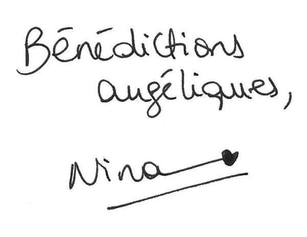 Signature Nina Canal des Anges
